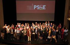 EL PSOE celebra los 40 años de ayuntamientos democráticos y presenta su lista electoral