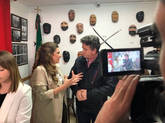 Los rostrillos, protagonistas del programa 'Andalucía de Fiesta'