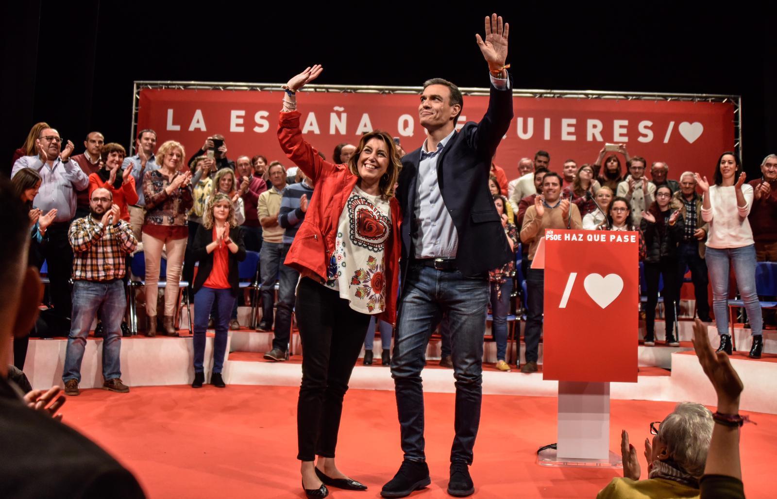 El socialismo cierra filas en torno a Pedro Sánchez