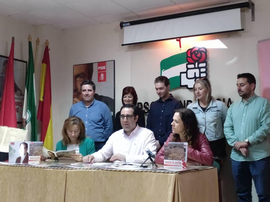 El PSOE hace balance de la legislatura
