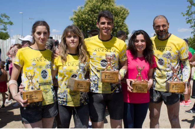 Gran trabajo del equipo de OCR 'Box Brothers Team' en la 'Jungla Race'