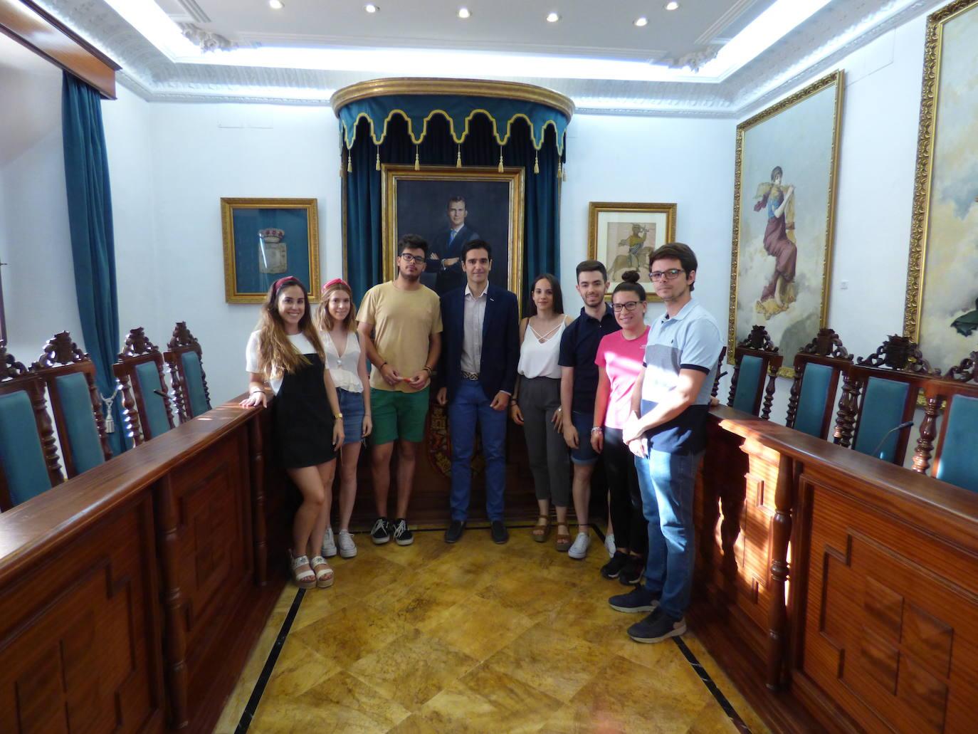 Formación en el consistorio municipal