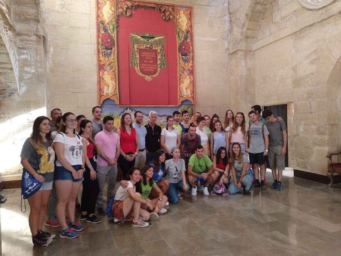 Jóvenes que ayudan a recuperar el patrimonio
