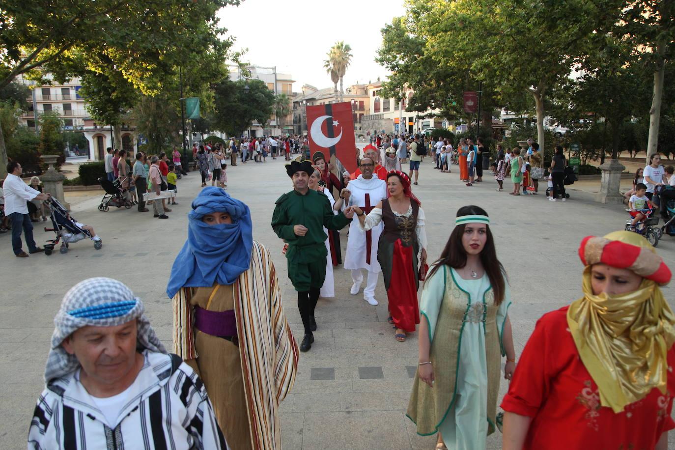 Más de 5.500 personas acuden a la Fiesta Medieval