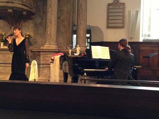 La soprano Laura Moyano vuelve a actuar en la localidad