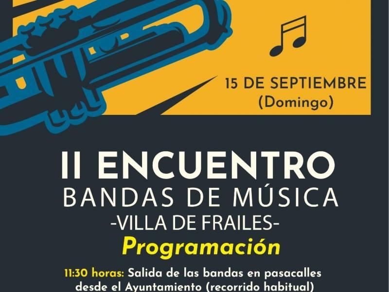 Encuentro de bandas en la Villa de Frailes