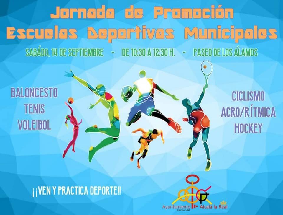 Jornada de promoción para las escuelas deportivas municipales