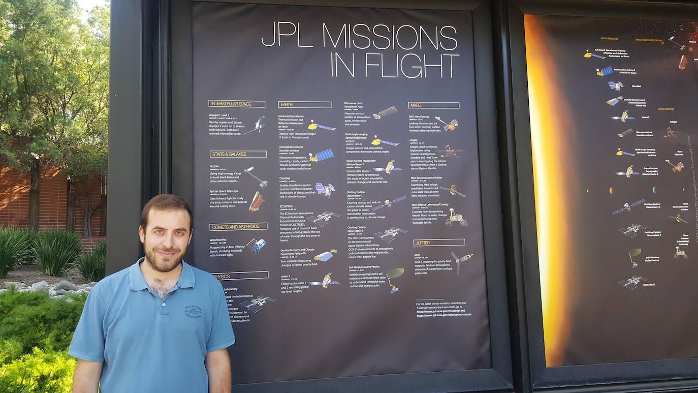 El talento alcalaíno que llega hasta la NASA