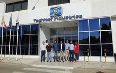 El equipo de gobierno continúa la ronda de visitas a las empresas locales con Taghleef Industries