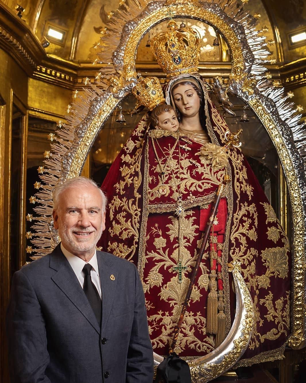 Luis SanJuan repite 25 años después como pregonero de la Patrona en un año especial