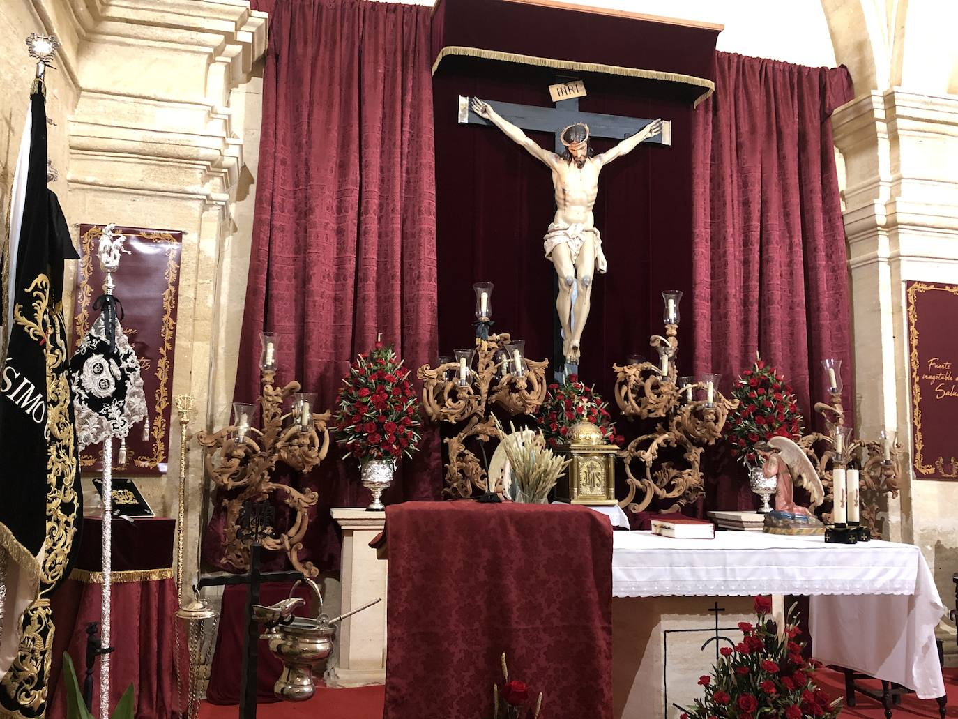 Una festividad de recogimiento en torno al Cristo de la Salud