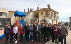 Inaugurada la nueva Plaza del Carmen de Albox con una zona infantil y parque biosaludable