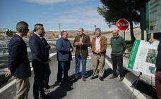 Finalizan las obras de mejora de la seguridad vial en el acceso a Los Segundas desde la A-334, en Alcóntar