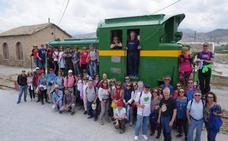 El Almanzora acogió la última ruta por la provincia del Ciclo provincial 'Trenes y Minas'
