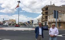 Finalizan las obras de la nueva rotonda en La Venta de Albox