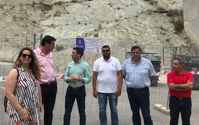 Diputación pone fin a los desprendimientos del 'Cerro de las Lomas' de Zurgena