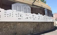 La historia monumental de Serón reflejada en el muro de contención