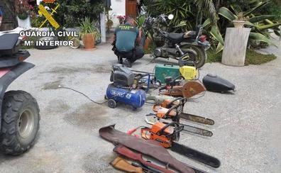 Dos detenidos por una decena de robos en el Alto Almanzora
