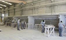 Alumnado del curso de operaciones auxiliares de la Escuela del Mármol inicia sus prácticas laborales