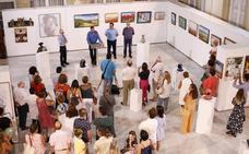 Diputación reúne el arte de tres autores y una empresa albojense en la muestra 'Arte-Albox'