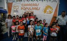 Más de 270 personas participan en Tíjola en una nueva prueba del Circuito de Carreras Populares