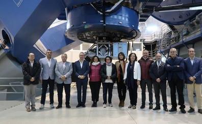 La Junta destinará 1,5 millones al funcionamiento del Observatorio Astronómico de Calar Alto