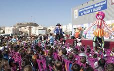 Miltitudinario desfile de carnaval infantil en Albox