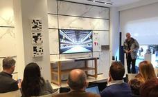 Cosentino presenta Raytrace, un diseño de LAYER creado por Benjamin Hubert con Dekton