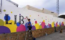 Ruta grafitera 'Mujeres que inspiran' para conmemorar el Día de la Mujer en Purchena