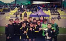 Cantoria gana en casa la 1º Copa Provincial de Escuelas de Fútbol en categoría Alevín
