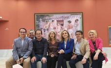 La Consejera de Cultura visita Las Instalaciones de la Ciudad de la Cultura De Olula Del Río