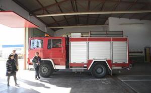 Diputación invertirá 300.000 euros en el parque de bomberos de Albox