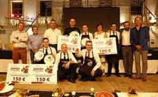 El cordobés Antonio Escribano gana la XI edición del Concurso Nacional de Cortadores en Serón