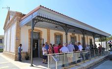 El Ayuntamiento de Cantoria recupera la estación de Almanzora como edificio de servicios y atractivo turístico local