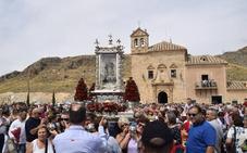 La Romería de la Virgen del Saliente en Albox reúne de nuevo a miles de peregrinos