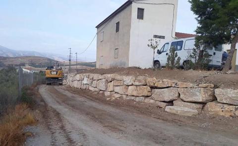 El Plan de Caminos de Diputación mejora tres caminos en Tíjola con 63.000 € de inversión