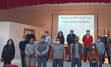 La Escuela del Mármol impartirá ocho nuevas acciones formativas para desempleados hasta 2023