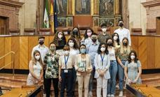 Los alumnos del IES 'Alto Almanzora' de Tíjola llevan su proyecto 'Parque Natural Sierra de los Filabres' al Parlamento