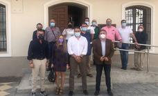 El delegado de Administración Local informa a los alcaldes del Almanzora de las medidas para frenar la despoblación