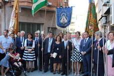 La recepción de la cofradía de Cataluña preludia los actos del 790 aniversario de la Aparición