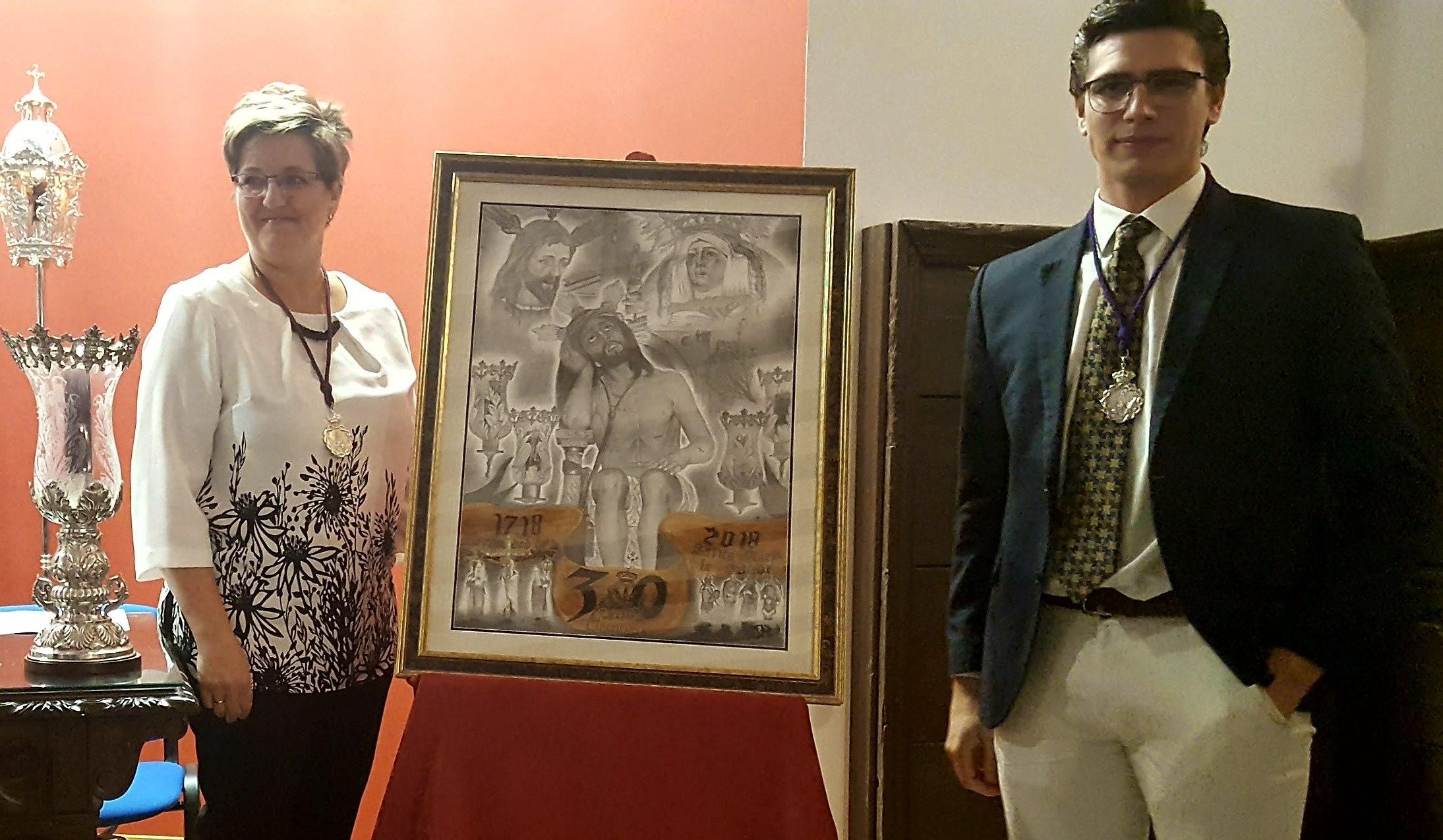 Antonio Boiso realiza el cartel de los 300 años de la Hermandad de la Paciencia