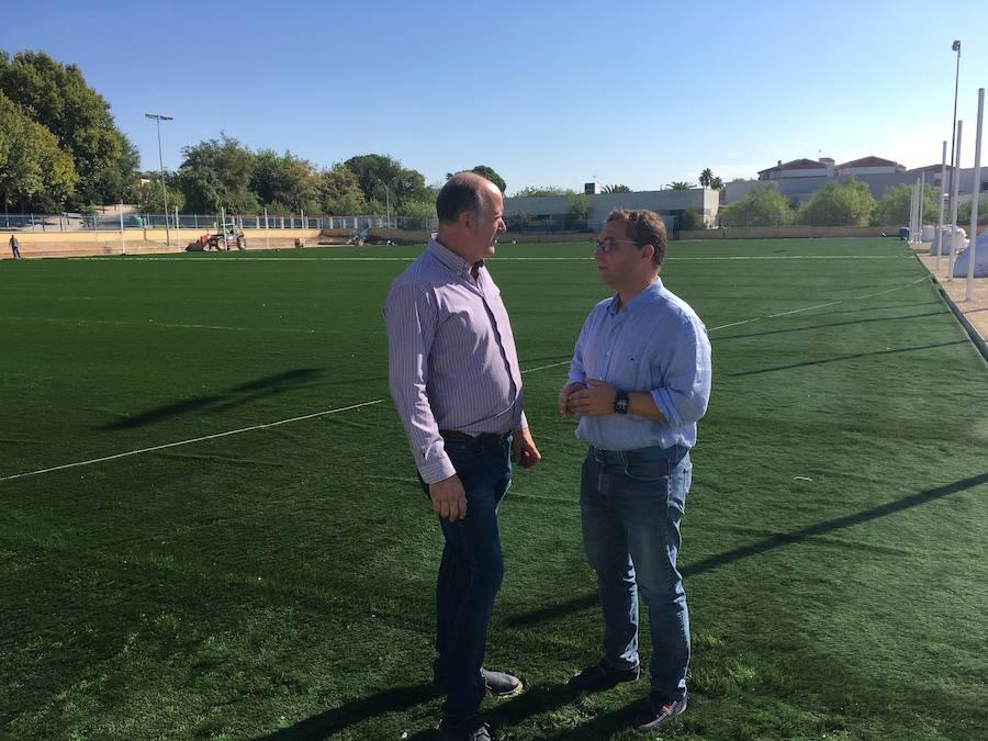 El campo de fútbol del Polígono Puerta de Madrid tendrá césped artificial y será remodelado