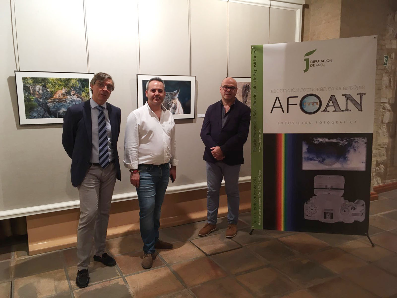 El Palacio Provincial acoge hasta el 29 de octubre una muestra de la Asociación de Fotógrafos de Andújar