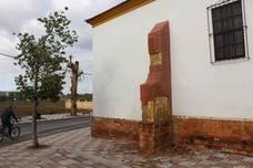 Actos vandálicos deterioran la parte externa de la iglesia de Santiago Apóstol de la Lagunilla
