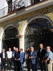 El escultor Manuel López acrecienta el patrimonio de la ciudad