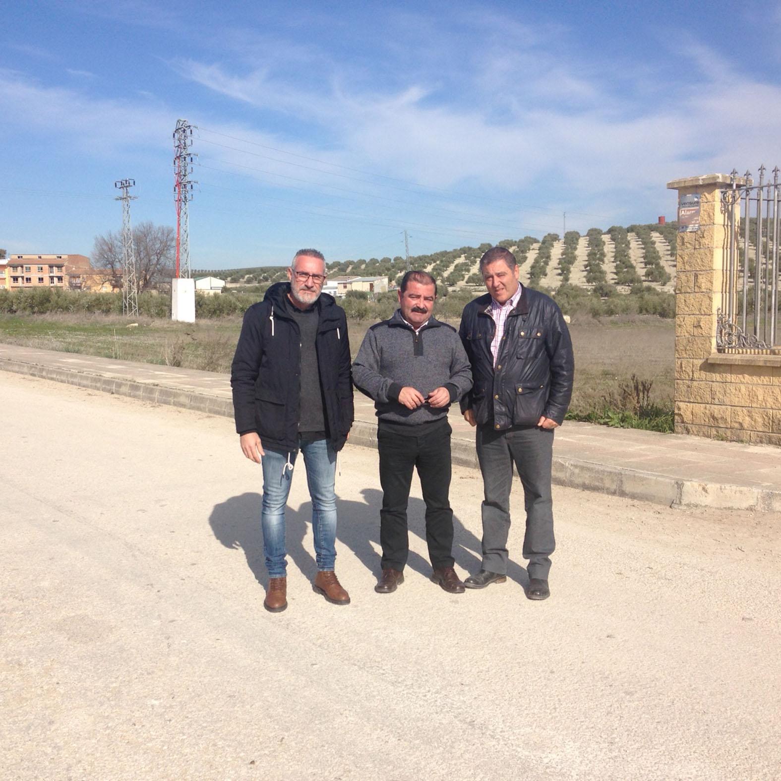 Diputación adecuará de forma integral la carretera entre Escañuela y Villardompardo