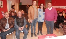 El PSOE local señala en un acto que la Junta está avanzando el centro logístico