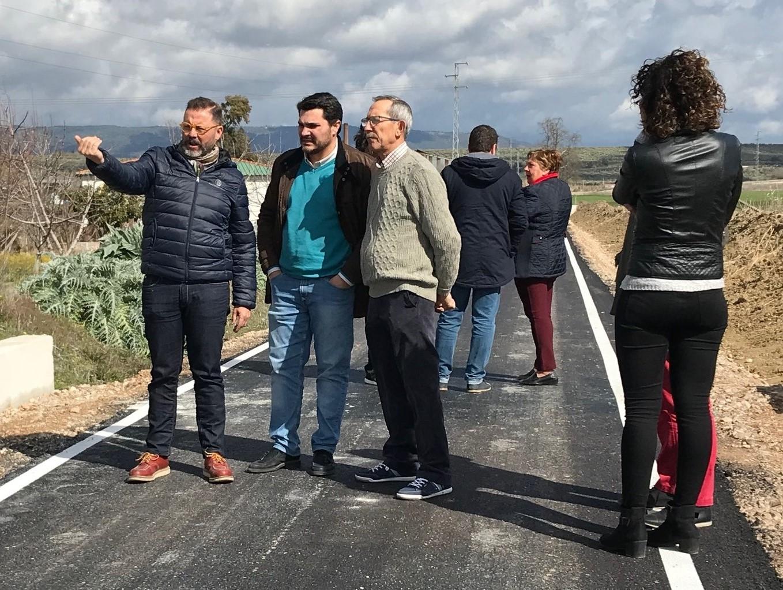 La Junta finaliza los trabajos para evitar inundaciones en la antigua carretera de la Estación de Marmolejo