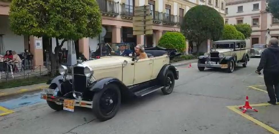 Llega a su fin el XVII encuentro de vehículos históricos Ciudad de Andújar