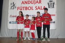 El Andújar Fútbol Sala cierra una campaña donde su apuesta por la cantera le proporciona resultados